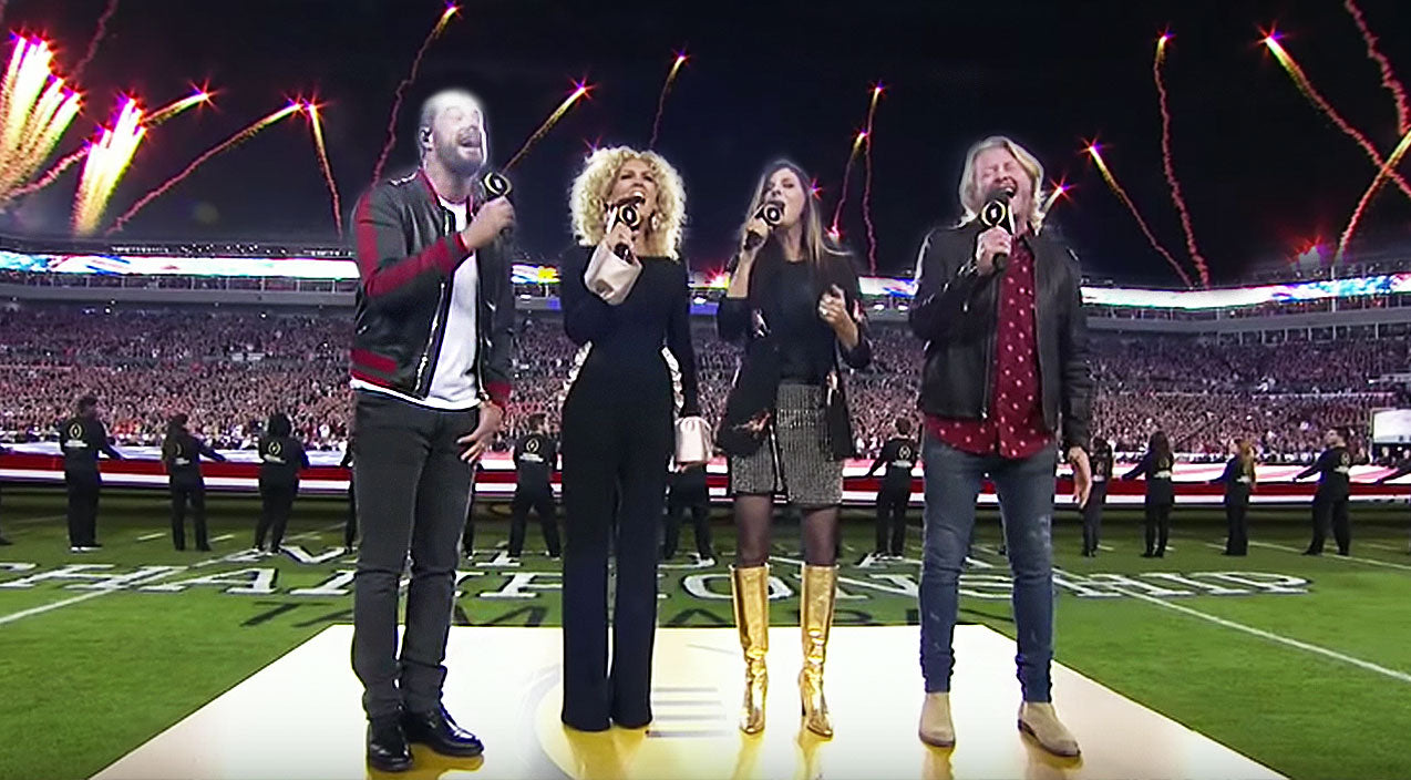 Modern country Songs | Little Big Town Electrifies Stadium With Paralyzing National Anthem Performance | Country Music Videos