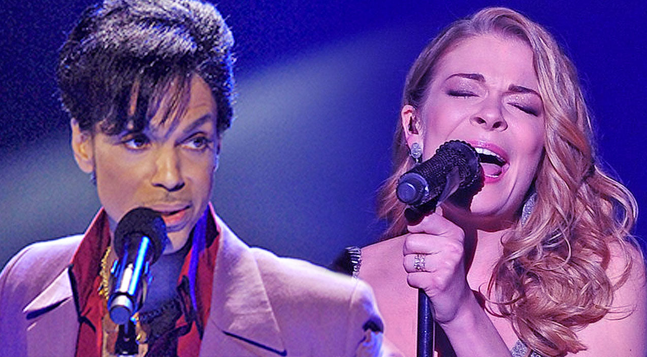 Prince Songs | LeAnn Rimes Immortalizes Prince With Emotional 'Purple Rain' Tribute | Country Music Videos
