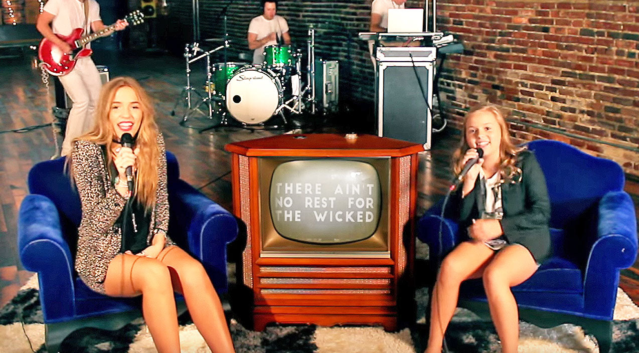 Lennon & maisy Songs | Nashville's Lennon & Maisy Give Popular Rock Song A Haunting Twist | Country Music Videos