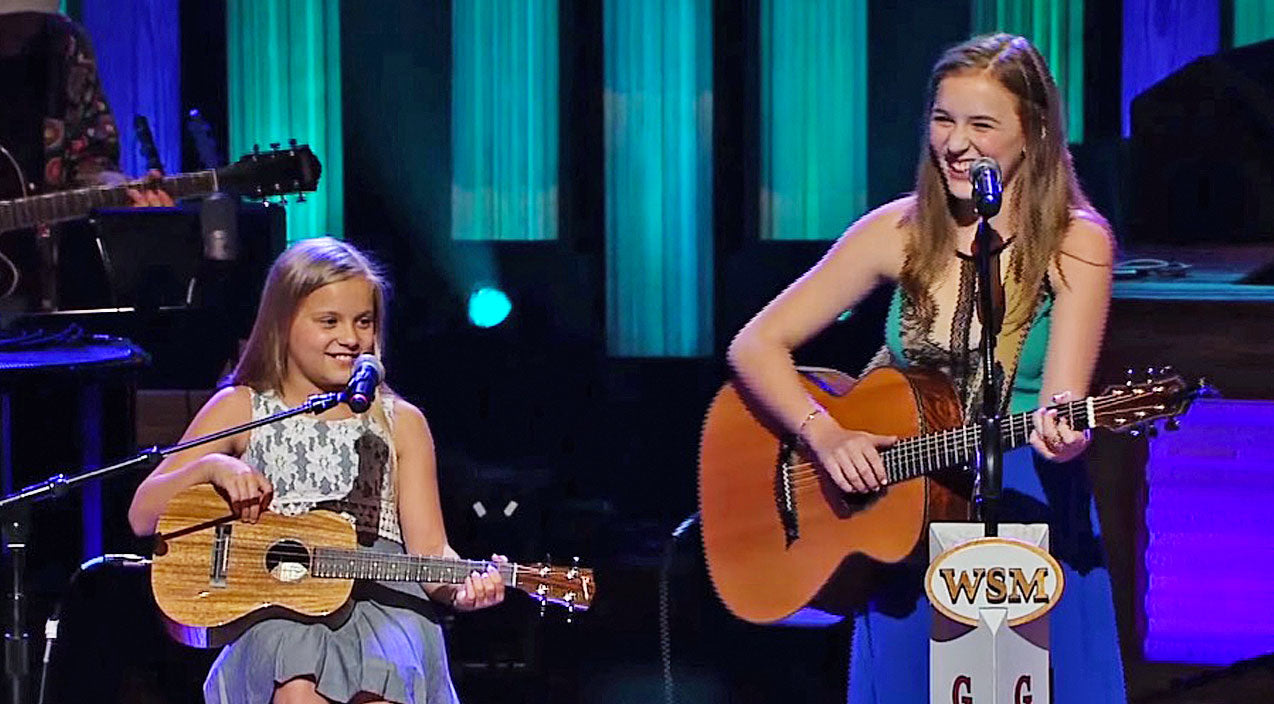 Lennon & maisy Songs | Sister Duo Lennon & Maisy Enchant The Opry With Delightful Johnny Cash Cover | Country Music Videos