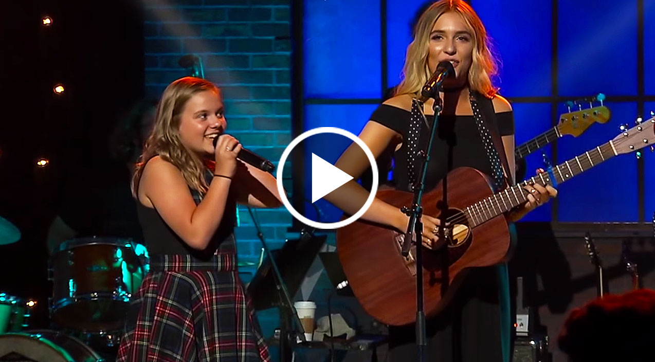 Lennon maisy give jaw dropping acoustic performance of 39 boom clap 39 country rebel - Lennon and maisy bio ...