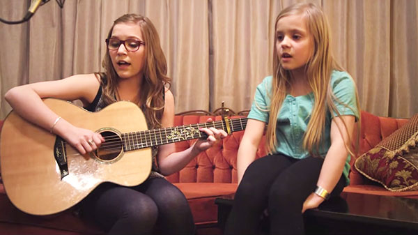 Lennon & maisy Songs | Lennon & Maisy Rekindle The Fire Behind Jason Mraz's 'I Won't Give Up' | Country Music Videos
