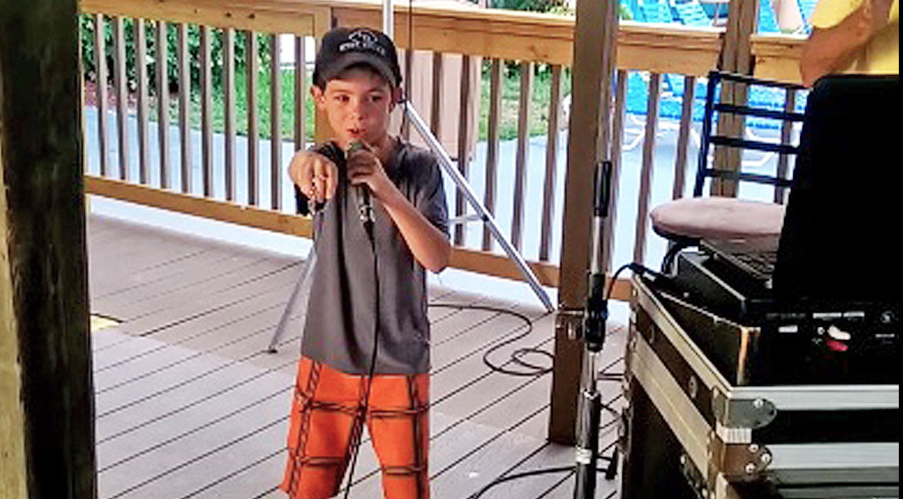 Luke bryan Songs | This Little Boy's Karaoke Performance Of Luke Bryan's 'Country Girl' Will Sweep You Off Your Feet | Country Music Videos