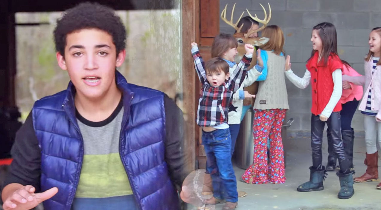 Robertson Kids Join Little Will In Adorable Music Video | Country Music Videos