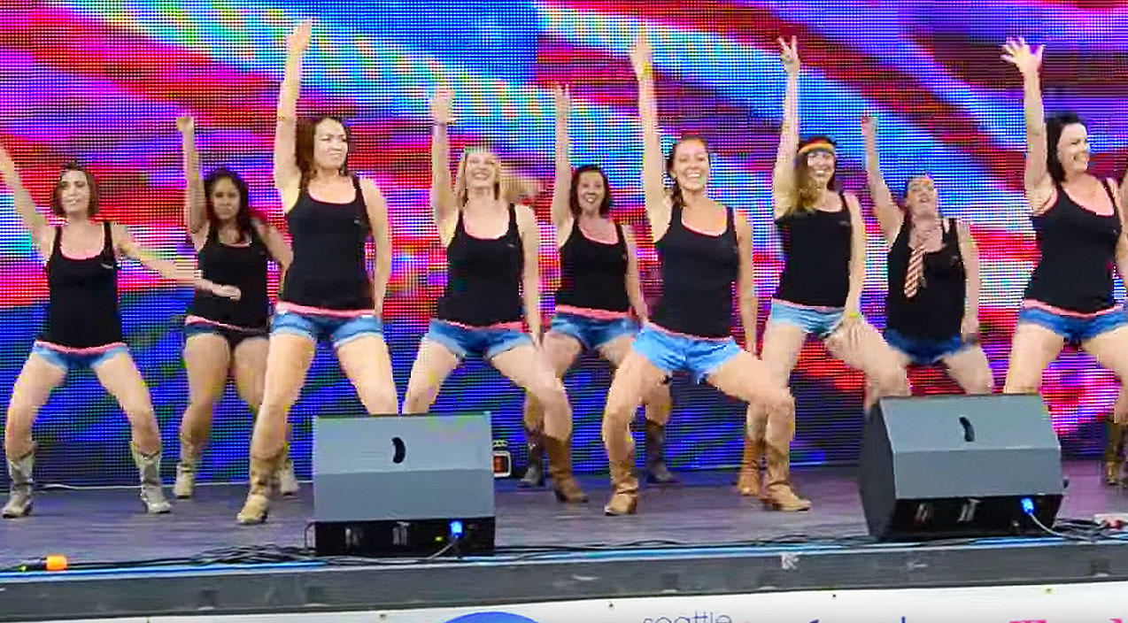 Modern country Songs | Boot Boogie Babes Break It Down To Miranda Lambert's 'Somethin' Bad' | Country Music Videos