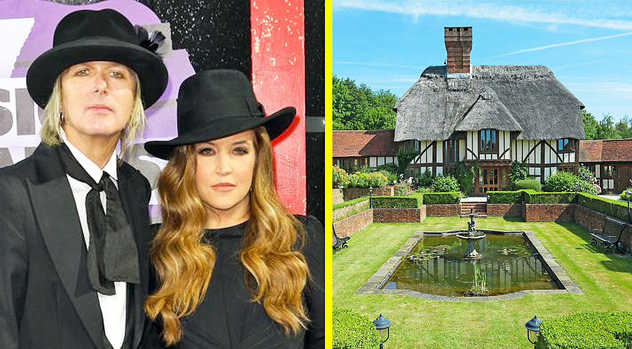 Lisa Marie Presley Lists Countryside Mansion For Sale