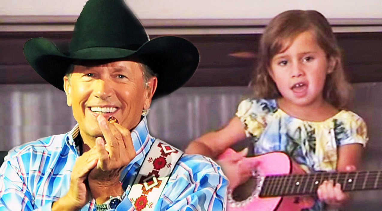 George strait Songs | On Her Pink Guitar, Little Girl Strums George Strait's