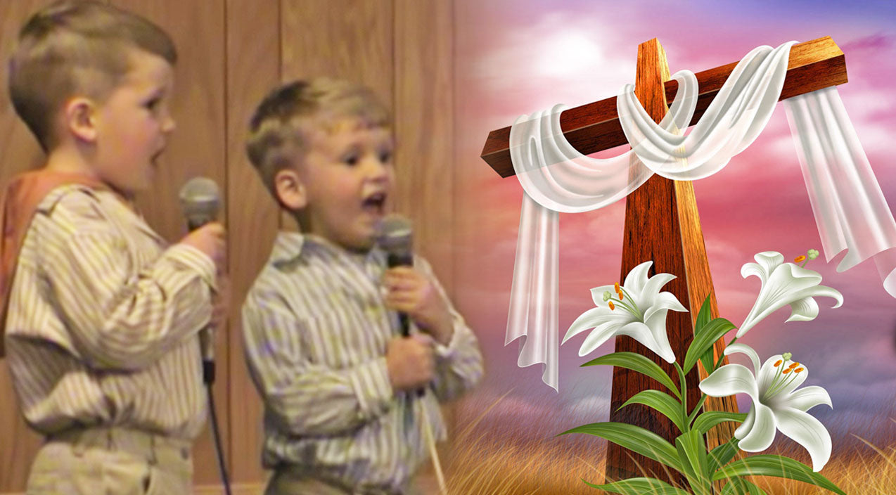 Classic country Songs | Adorable Little Boys Sing An Easter Song (Cute!) | Country Music Videos