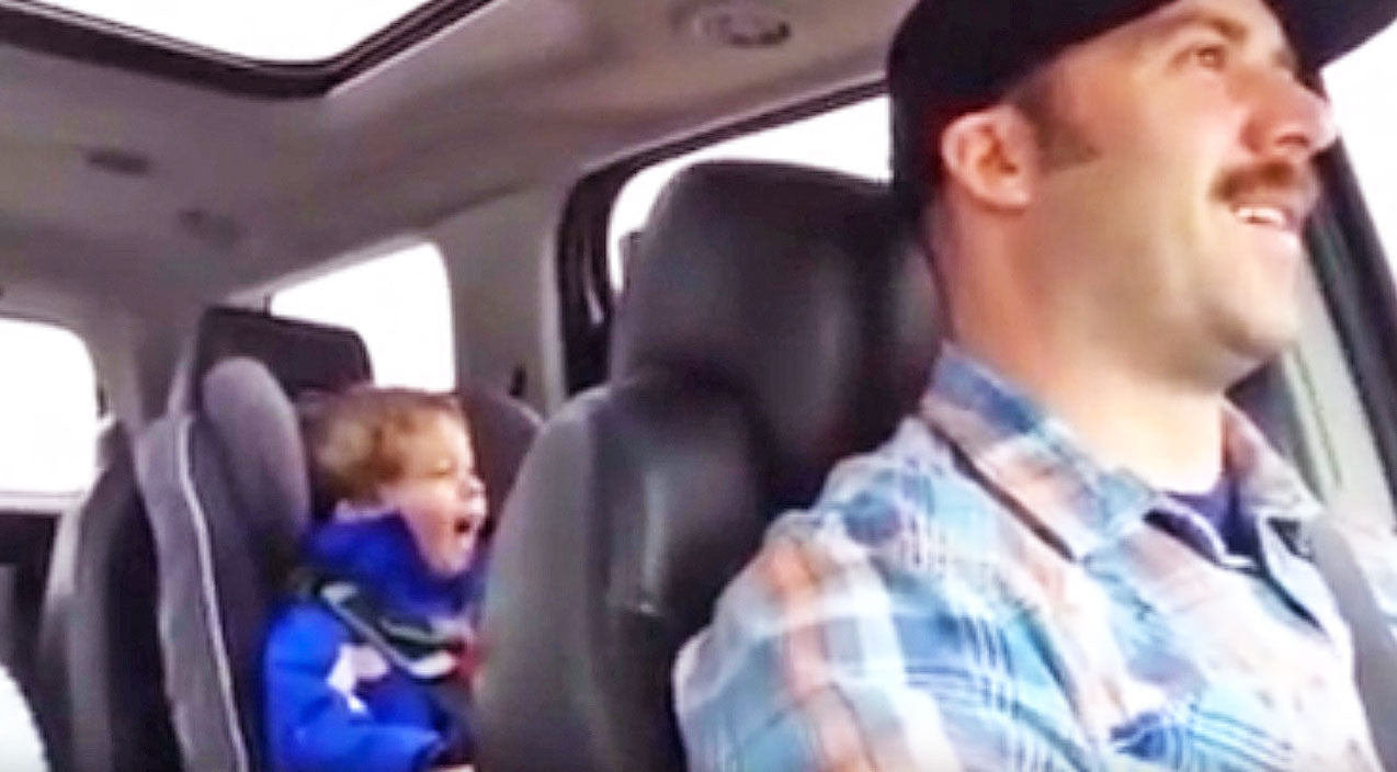 Toby keith Songs | Cuddly 3-Year-Old Proudly Belts Out Toby Keith's 'Should've Been A Cowboy' | Country Music Videos