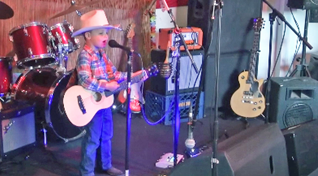 George strait Songs | 4-Year-Old Opening Act Wows Audience With George Strait Hits | Country Music Videos