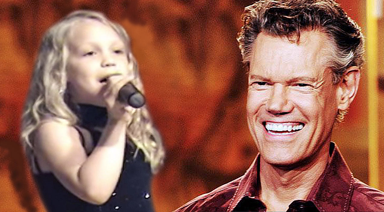 Randy travis Songs | Little Girl Stuns The Crowd With Performance of Randy Travis' 'I Told You So' | Country Music Videos