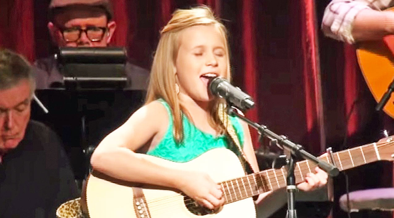 Vince gill Songs | Young Girl's Heavenly Rendition Of 'Go Rest High On That Mountain' Will Give You Chills | Country Music Videos