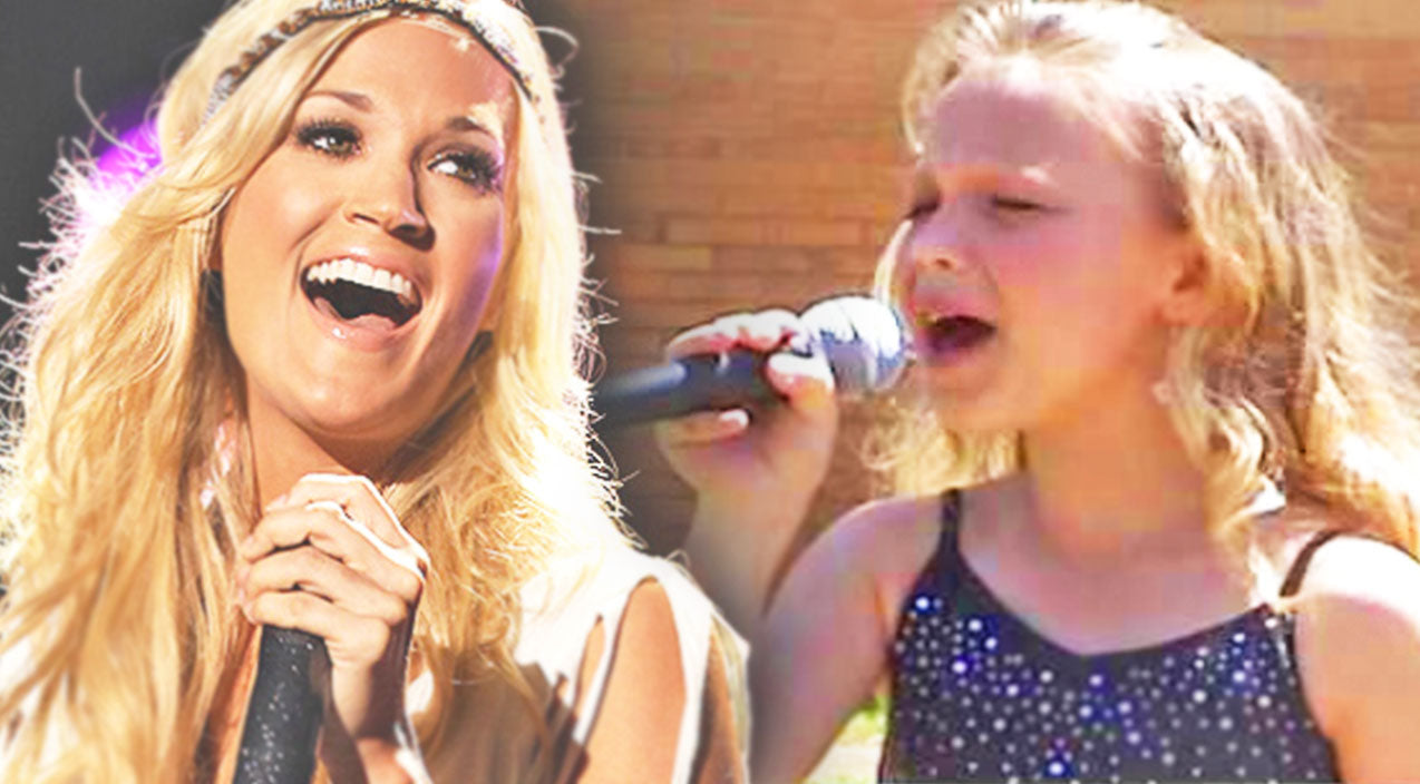 Kid covers Songs | Talented Little Girl Wows with Carrie Underwood Cover (VIDEO) | Country Music Videos