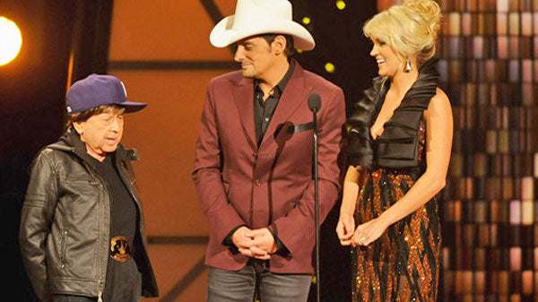 Little jimmy dickens Songs | Carrie Underwood and Brad Paisley Introduce Little