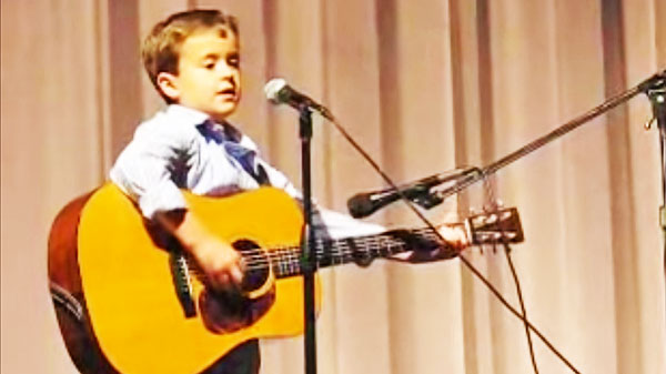 Johnny cash Songs | Second Grader Covers Johnny Cash's