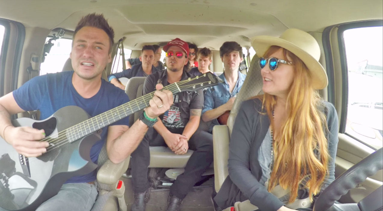Love and theft Songs | Love And Theft Joins Local Country Band For Impromptu Concert In Drive Thru | Country Music Videos