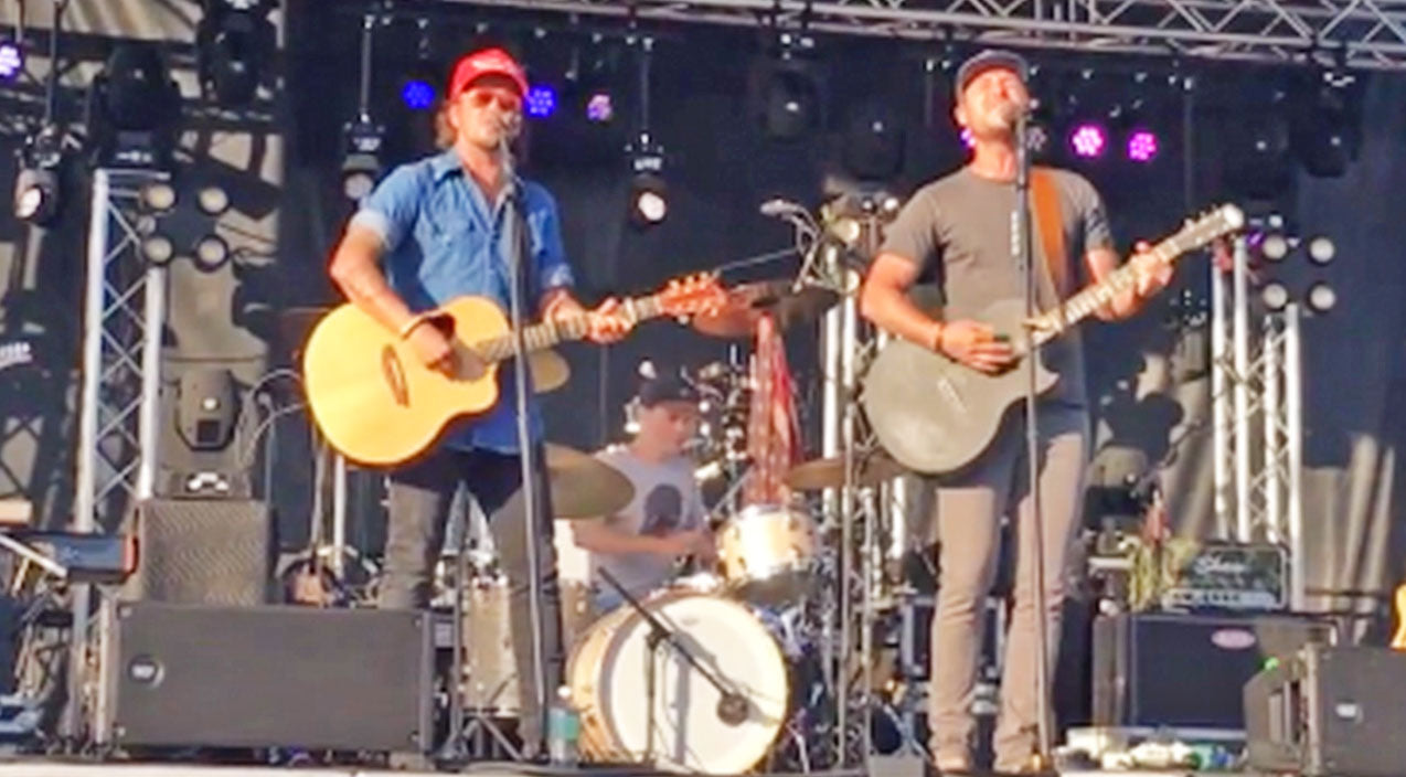 Love and theft Songs   Love and Theft Will Move You With Powerful Live Performance Of 'Love Wins'   Country Music Videos