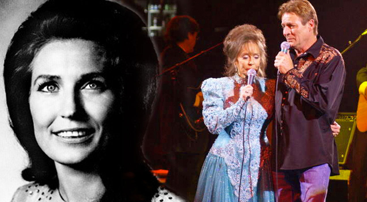 Loretta lynn Songs | Young Loretta Lynn and Her Son, Ernest Ray, Harmonize In Beautiful Rendition Of