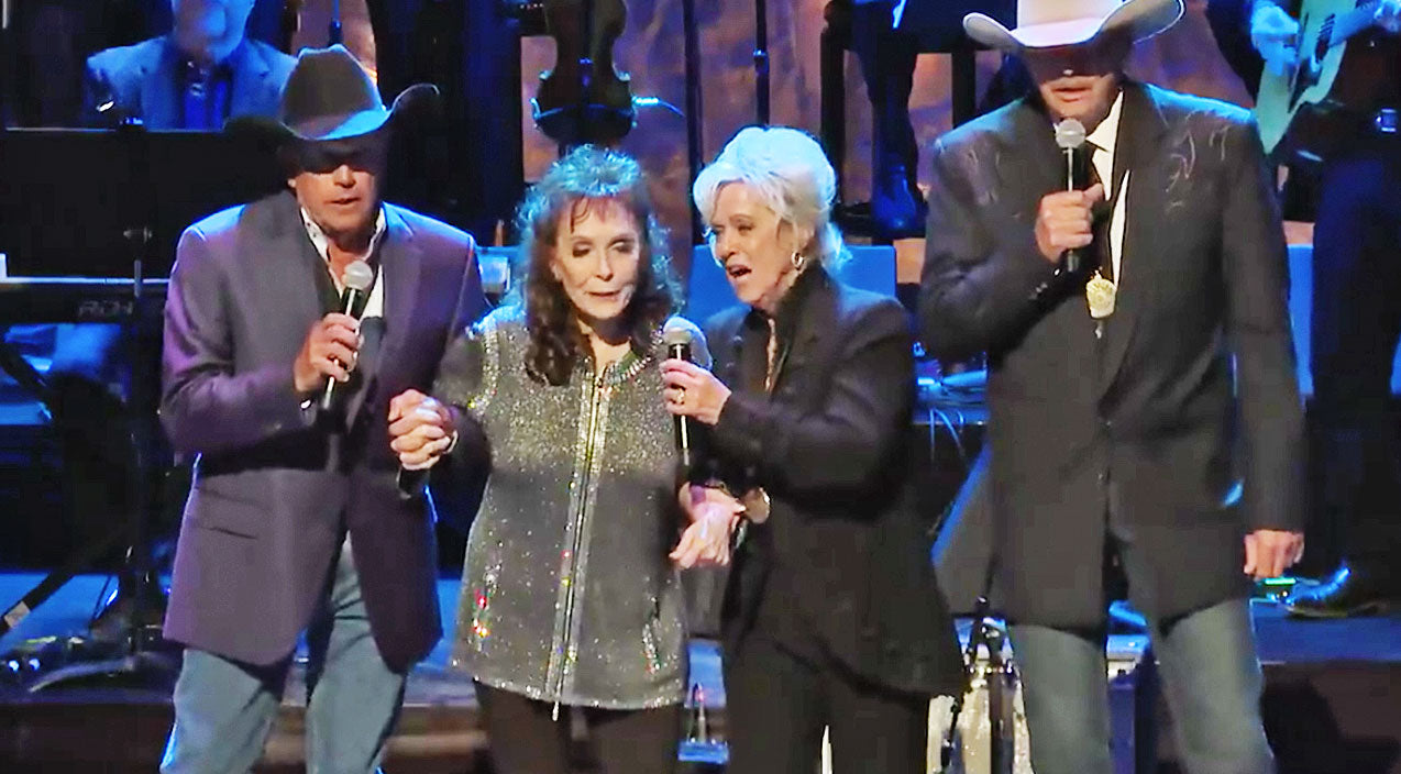 Loretta lynn Songs | Country Music Legends Team Up For Unforgettable 'Will The Circle Be Unbroken' | Country Music Videos