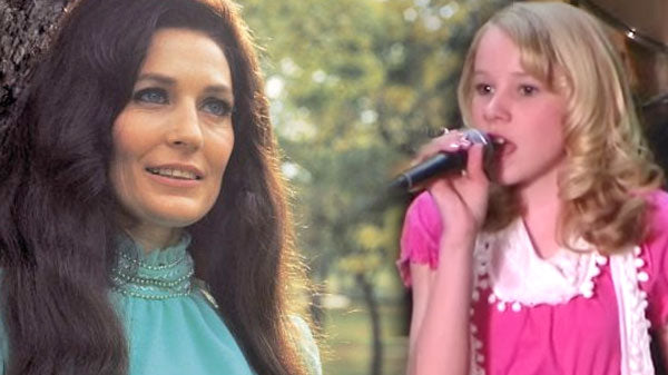 Loretta lynn Songs | 12-Year-Old Girl Covers Loretta Lynn's Iconic 'Coal Miner's Daughter' | Country Music Videos