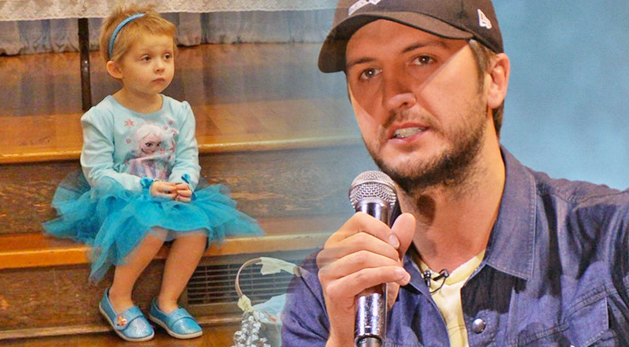 Luke bryan Songs | Luke Bryan Makes 5-Year-Old's Dream Come True Days Before Her Passing | Country Music Videos