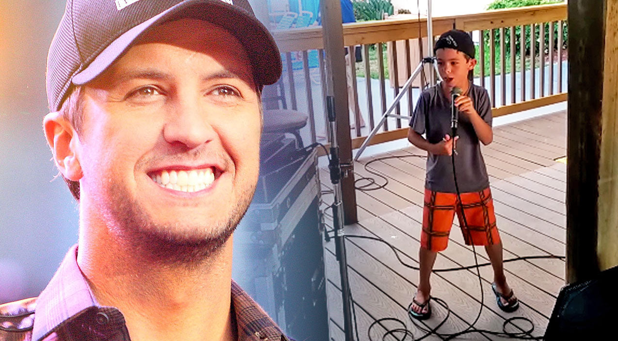 Luke bryan Songs | This Little Boy's Karaoke Performance Of Luke Bryan's 'Country Girl' Will Sweep You Off Your Feet! | Country Music Videos