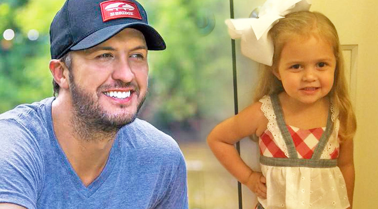 Luke bryan Songs | Luke Bryan Finally Meets His Biggest (& Cutest) Fan... And It's More Adorable Than Ever! | Country Music Videos