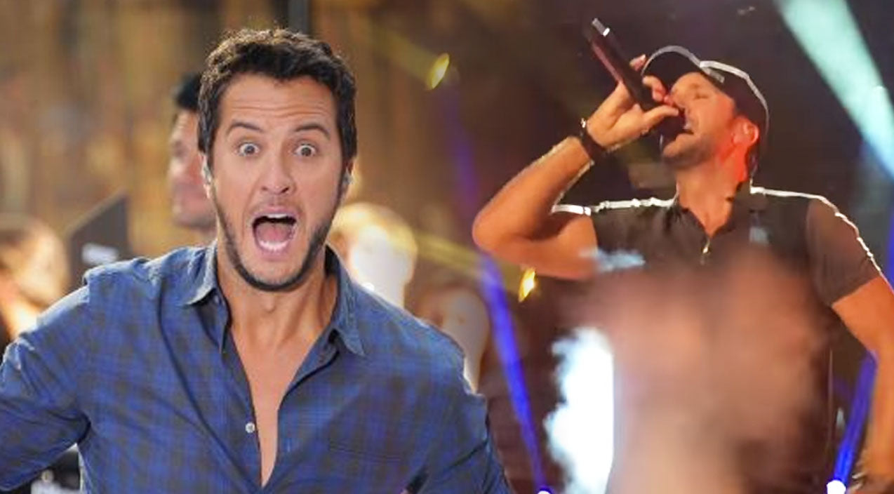 Luke bryan Songs | Luke Bryan Is Known For His Stage Falls, But Then THIS Happened At The CMA Fest! (WATCH) | Country Music Videos