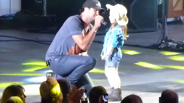 Luke bryan Songs | Luke Bryan - Someone Else Calling You Baby (w/ Adorable 6 Year Old Kylee) (VIDEO) | Country Music Videos