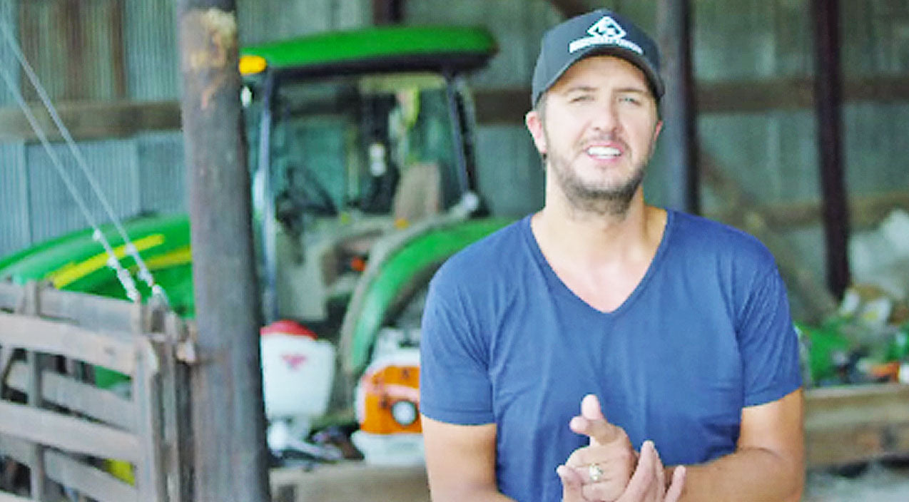 Luke bryan Songs | Luke Bryan Premieres New Music Video Dedicated To Local Farmers | Country Music Videos