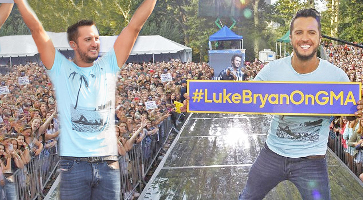 Luke bryan Songs | Luke Bryan Celebrates The Release Of His New Album With Concert In Central Park | Country Music Videos