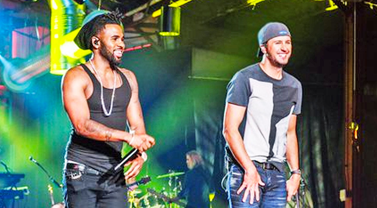 Modern country Songs | Luke Bryan Hits High Notes With Jason Derulo During Electrifying 'Crossroads' Performance | Country Music Videos