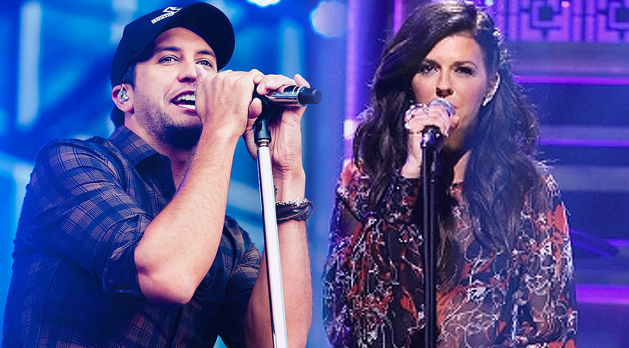 Luke bryan Songs | Luke Bryan & Little Big Town Sing Passionate Cover Of Ed Sheeran's 'Thinking Out Loud' | Country Music Videos