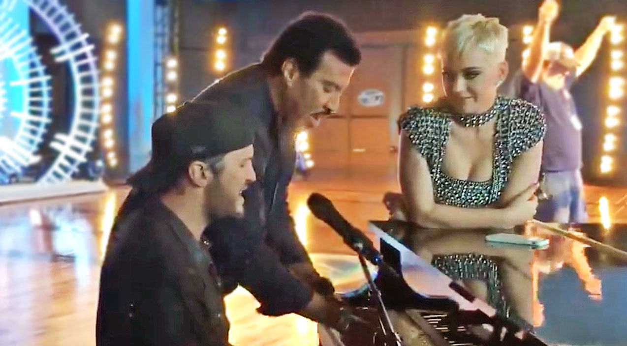 Modern country Songs | Need A Reason To Smile? Just Watch Luke Bryan Play Piano With Lionel Richie | Country Music Videos