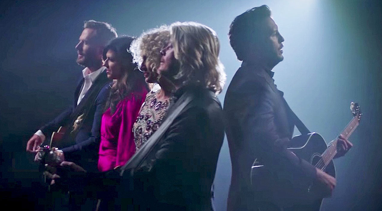 Modern country Songs | Luke Bryan & Little Big Town Honor Classic Country Legends In New Duet | Country Music Videos