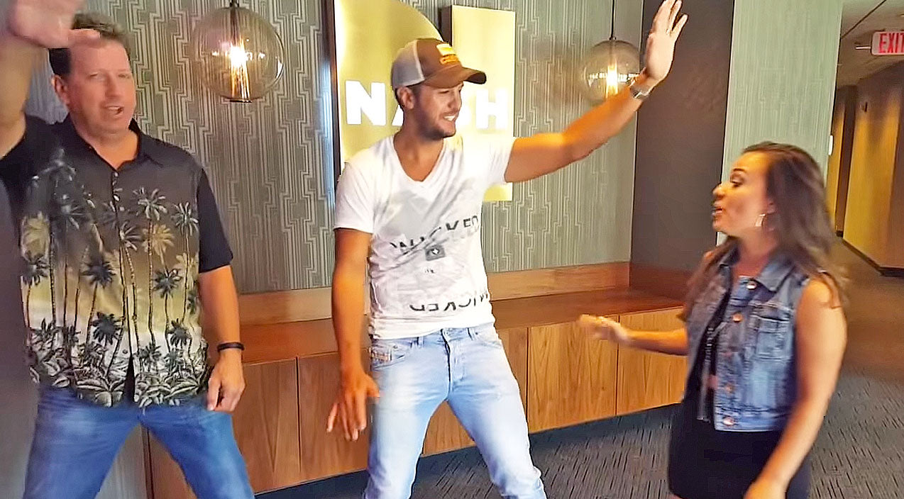 Luke bryan Songs | Luke Bryan Hilariously Tries A New Dance Fad | Country Music Videos