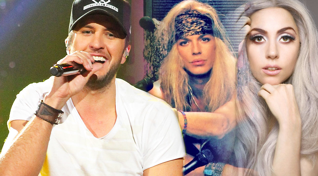 Luke bryan Songs | Luke Bryan Rocks Lady Gaga's