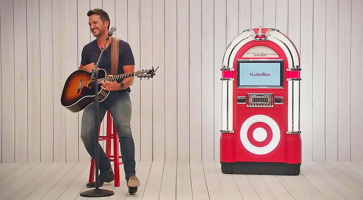 Luke Bryan Teams Up With Target To Perform Songs Inspired By Fans On Twitter (VIDEO) | Country Music Videos