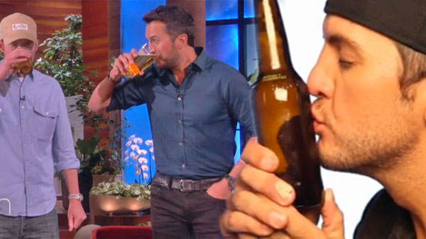 Luke bryan Songs | Luke Bryan Knocks A Few Back On The Ellen Show (Funny!) (VIDEO) | Country Music Videos