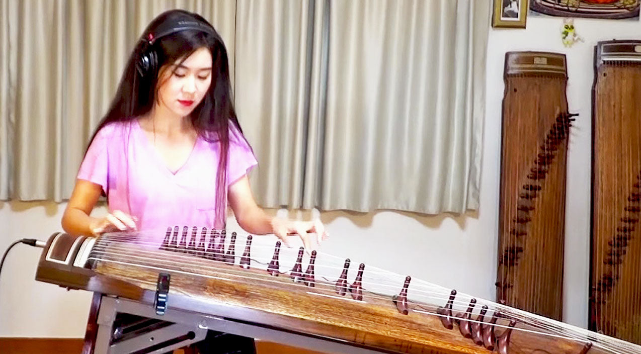 Lynyrd skynyrd Songs | This Korean Woman Plays A Killer 'Free Bird' Solo On The Most Fascinating Instrument You'll Ever See | Country Music Videos