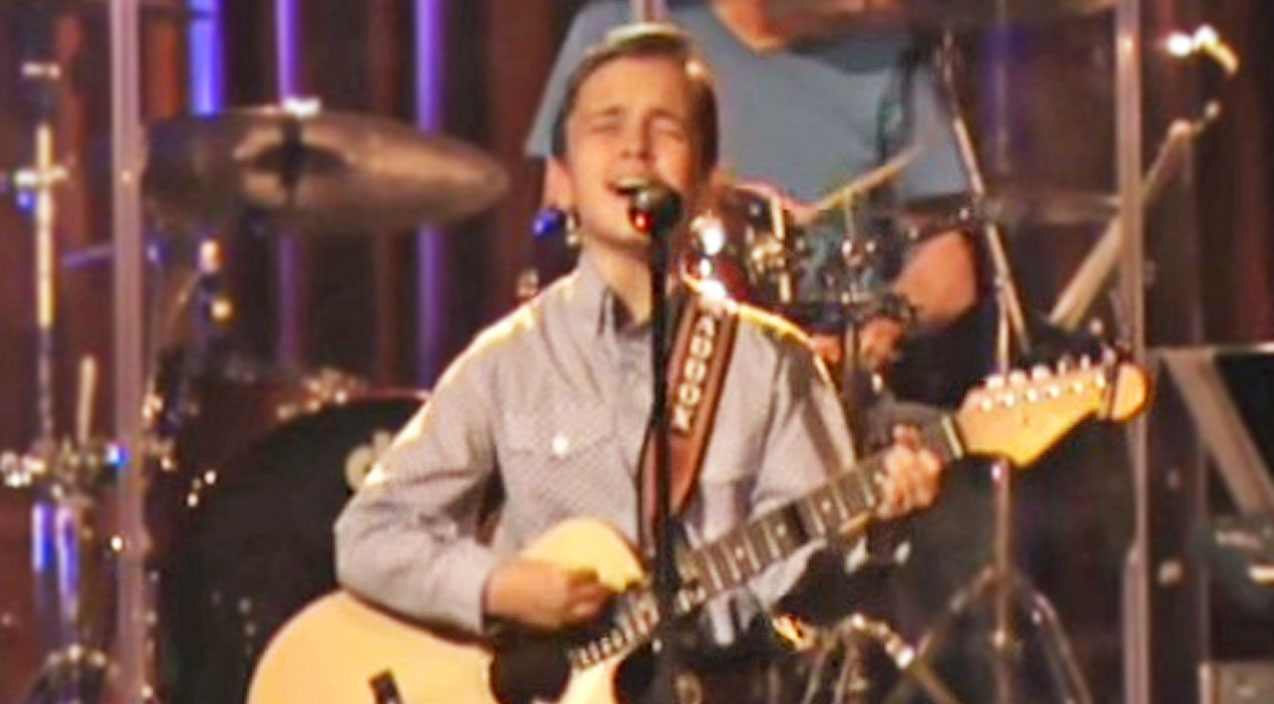 Vince gill Songs | 12-Year-Old Boy's Heavenly Rendition Of 'Go Rest High On That Mountain' Will Have You In Tears | Country Music Videos