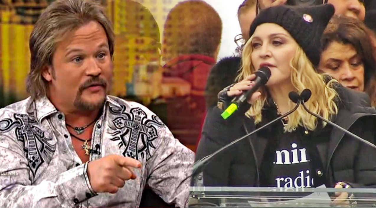 Travis tritt Songs | Travis Tritt Responds To Madonna's Controversial 'Blow Up The White House' Speech | Country Music Videos