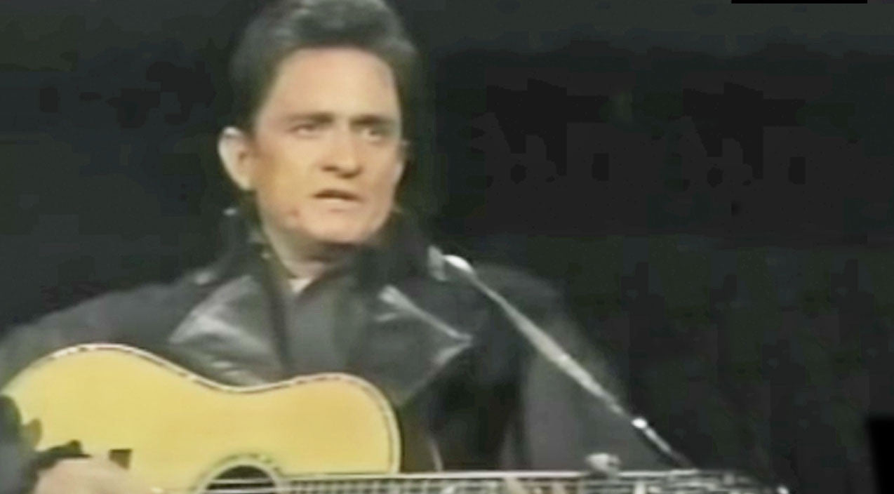 Johnny cash Songs | Watch Johnny Cash Perform 'Man In Black' For The First Time Live | Country Music Videos
