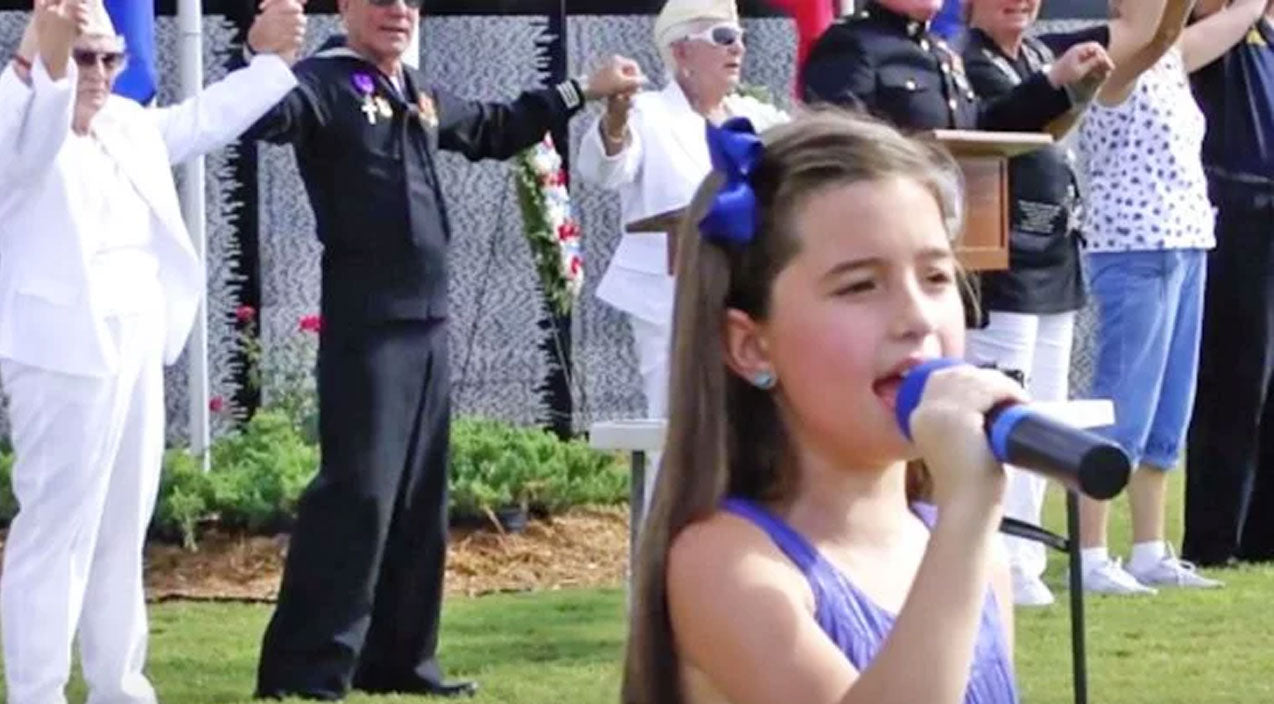 Lee greenwood Songs | 8-Year-Old Performs Chilling Rendition Of 'God Bless The USA' | Country Music Videos