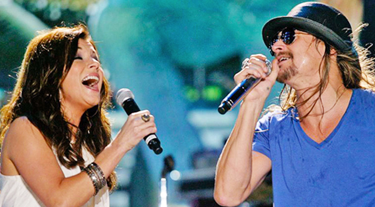 Martina mcbride Songs | Kid Rock & Martina McBride Pair Up For Intimate 'Picture' Duet | Country Music Videos