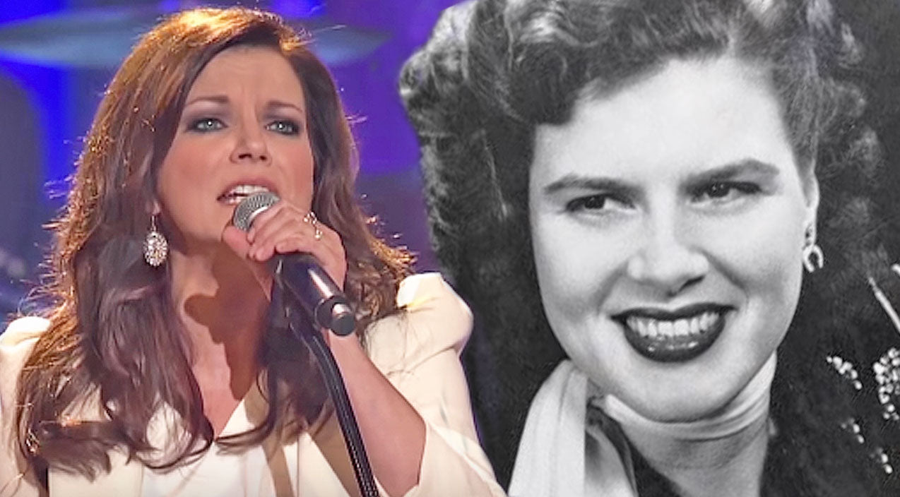 Patsy cline Songs | Martina McBride Performs Her 'Favorite Patsy Cline Song' On The Famous Opry Stage | Country Music Videos