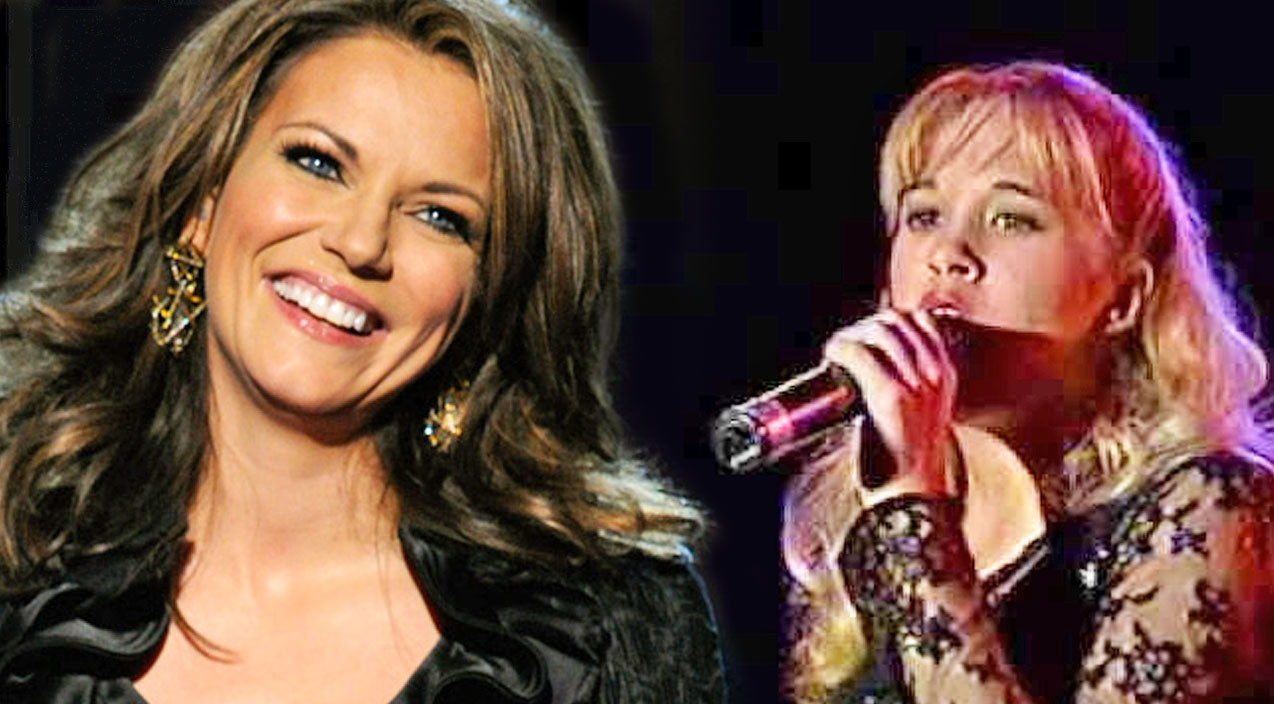 Martina mcbride Songs | A Shy 14 Year Old Carrie Underwood Stuns With Martina McBride's