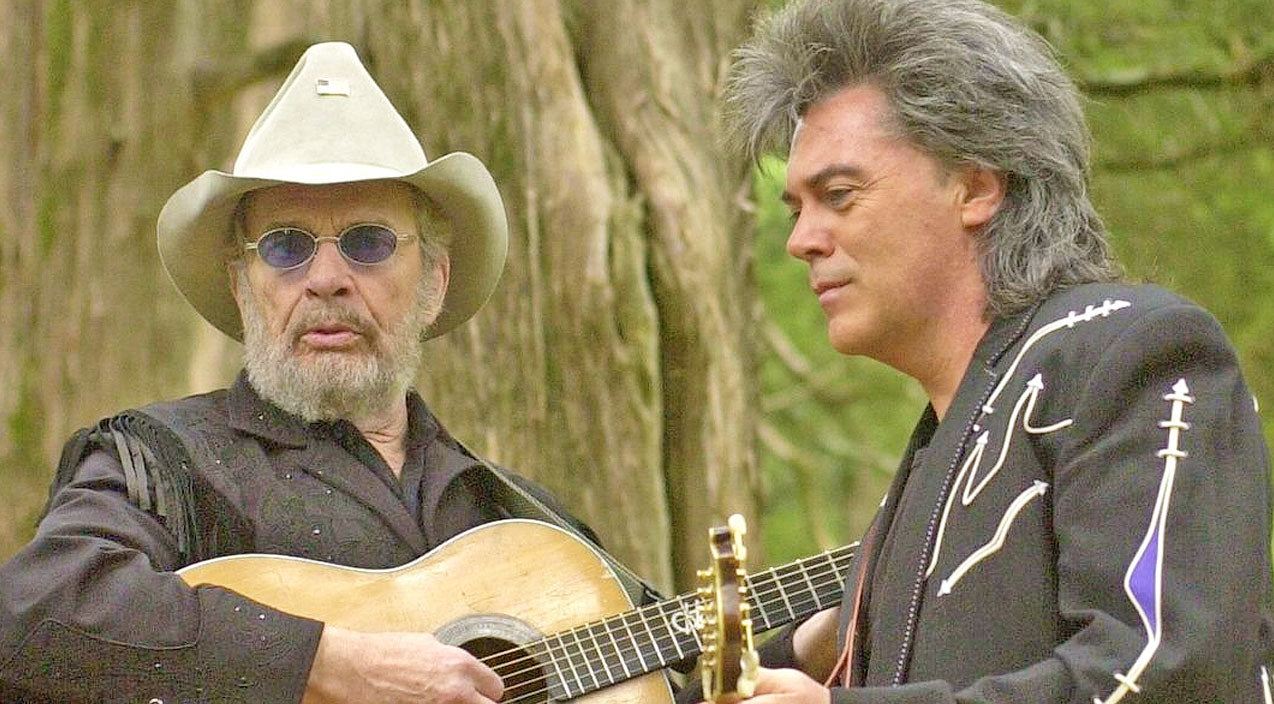 Merle haggard Songs | Marty Stuart Remembers His 'Dearest Friend' Merle Haggard | Country Music Videos