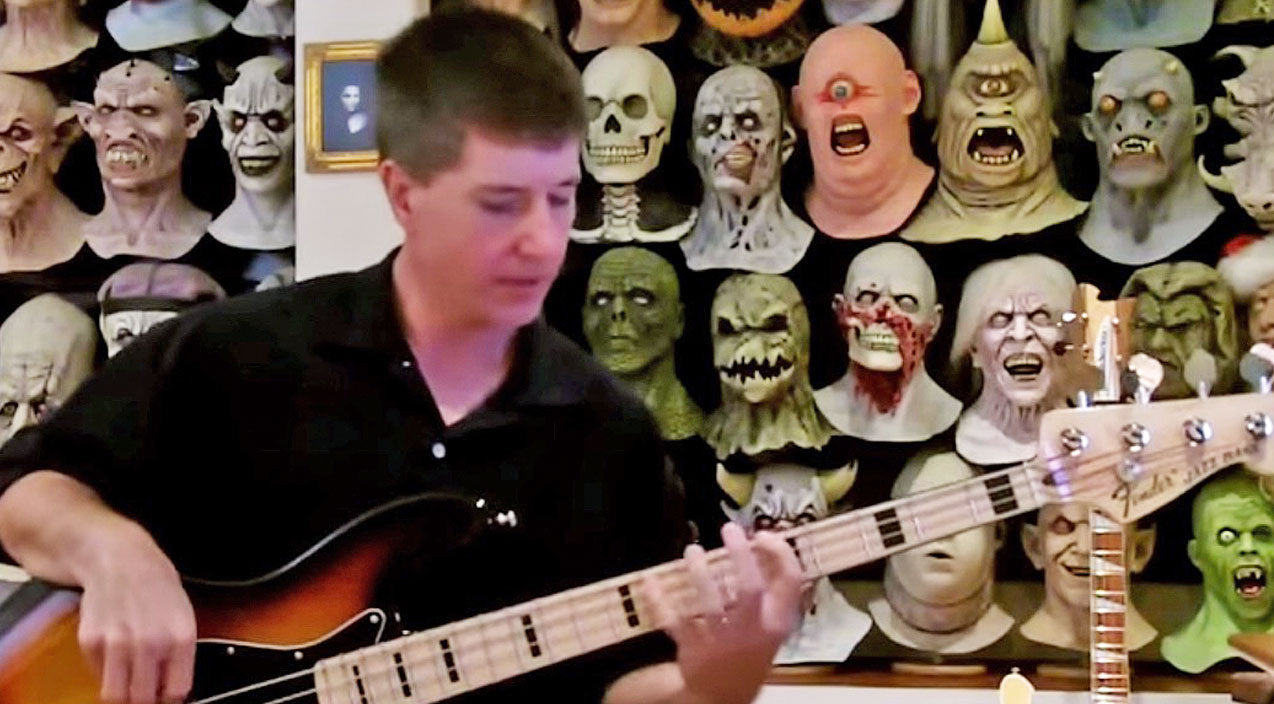 Lynyrd skynyrd Songs | When This Mask Collector Starts Playing Bass To 'I Know A Little,' You Just Have To Boogie | Country Music Videos