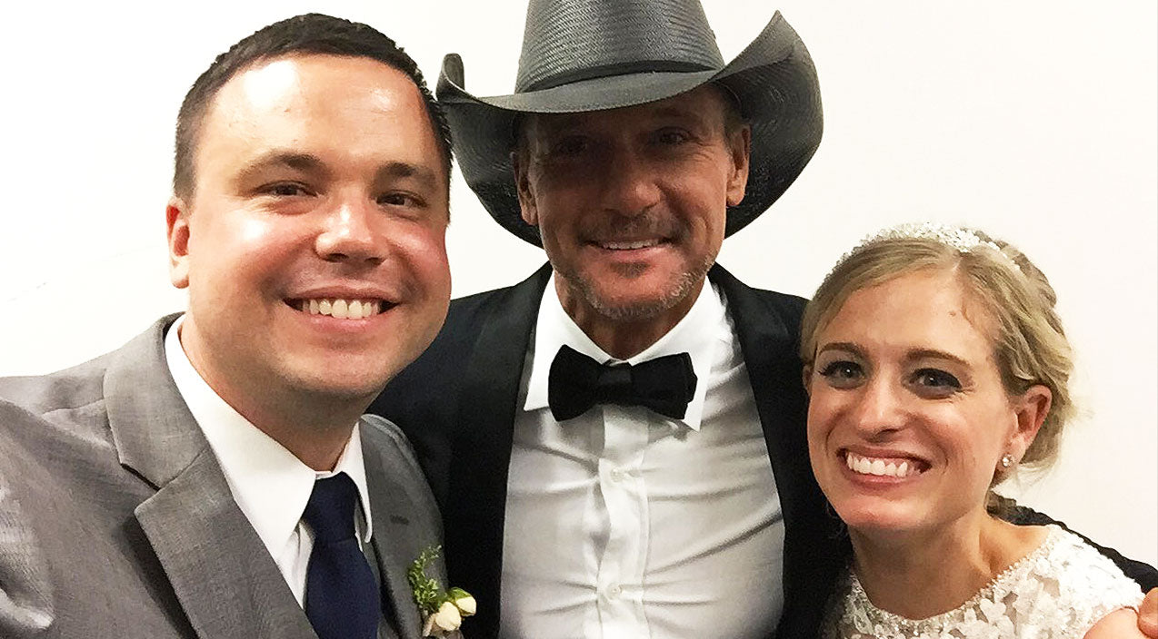 Tim mcgraw Songs | Newlyweds Finally Spill The Beans On The Moment Tim McGraw Crashed Their Wedding | Country Music Videos